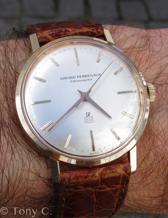 I've been wearing this GP chronometer recently...